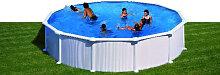 Stahlwandpool Schwimmbad 550cm
