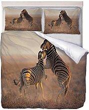 STAIRMC Bettwäsche Set Zebra Bettwäsche-Sets
