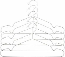 STAJLIG - Kleiderbügel, innen/außen, weiß