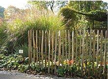 Staketenzaun französische Kastanie 10m, Höhe ca. 100 cm, Lattenabstand ca. 4-6 cm von Gartenwelt Riegelsberger
