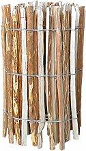 Staketenzaun Länge 500 cm Höhe 90 cmAbstand 7-8 cm Haselnuss Lattenzaun Gartenzaun von Gartenpirat®