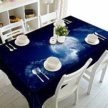 Stale 3D Tischdecke Blaue Erde im