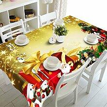 Stale 3D Tischdecke Exquisite Weihnachtsgeschenk