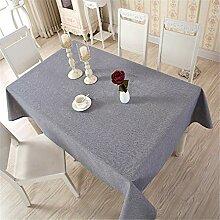 Stale Moderne Leinen Baumwolle Tischdecke Rot 5