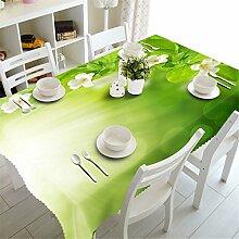 Stale Pastorale 3D Tischdecke Weiß Morning Glory