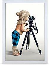 Stallmann Design Bilderrahmen 30x45 cm weiß