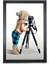 Stallmann Design Bilderrahmen 35x45 cm schwarz