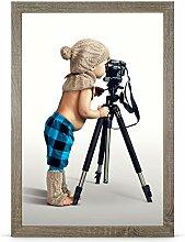 Stallmann Design Bilderrahmen 48x68 cm wildeiche