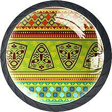 Stamm Afrika, 4Pack ABS Kommode Knöpfe Schrank