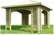 Stan-Wood PAVILLON 3m x 3m (Außenmaß 3,5m)