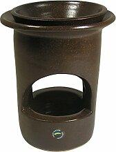 Stand-Duftlampe Aromabrenner aus Keramik 12,5 cm