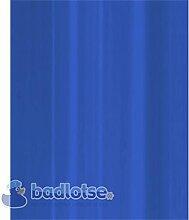 STANDARD Duschvorhang Vinyl 180 x 200 cm blau uni