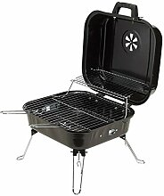 Standgrill Holzkohle Picknickgrill schwarz Campinggrill 3 x Grillros