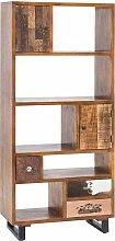 Standregal im Vintage Design Türen und Schubladen