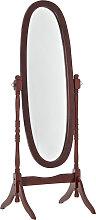 Standspiegel Cora oval-kirsch