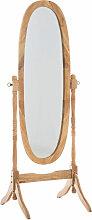 Standspiegel Cora oval-natura