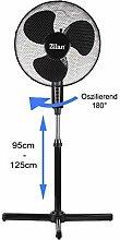 Standventilator 40 Watt, Ø41 cm| Oszillierender