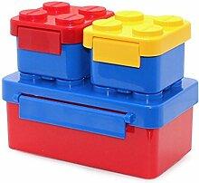 Stapelbar Kinder Brotdose Lunch Box Bento Box for