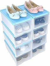 Stapelbar Schuhbox Set 8er Schuhboxen