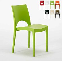Stapelbarer Polypropylen Stuhl Küchenstuhl Café