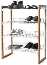 Stapelbares Schuhregal - viel Platz für Ihre