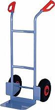 Stapelkarre blau Trgf.200kg blau PROMAT Luftrad-D.260mm