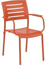 Stapelsessel Ronda orange - inko Gartenmöbel