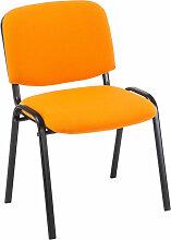Stapelstuhl Ken Stoff-orange
