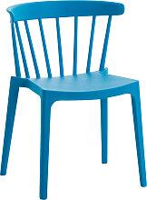 Stapelstuhl XL Filip-blau