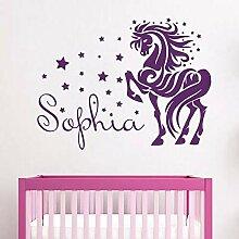 Star Baby Zimmer Wandaufkleber Personalisierte