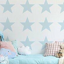 Star Kindergarten Wand Schablone Kinderzimmer Heim Wand Dekoration Kunst & Handwerk Schablone Wandfarbe Stoffe & Möbel 190 Mylar wiederverwendbar Schablone