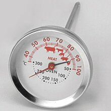 STAR Thermometer Dual 12,5 cm, silber