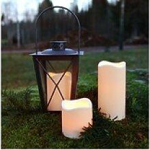 STAR TRADING LED-Kerze LED outdoor Kerze PAUL -