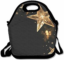 Star Unisex Lunch Box Food Bag Lunch Bag For