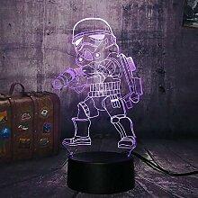 Star Warriors Stormtrooper 3D LED Optische