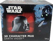 Star Wars 3D Charakter Tasse Darth Vader