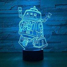 Star Wars 3D Nachtlicht LED Schlafzimmer