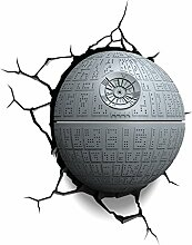 Star Wars 3D Nachtlicht Todesstern Death Star LED