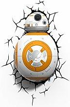 Star Wars BB-8 Wandlampe 3D Light FX LED