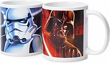 Star Wars Becher SWA101934 (Rot/Blau)