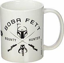 Star Wars Boba Fett Symbol Keramik Becher, mehrfarbig