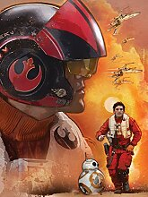 Star Wars Consalnet 2760 Vea Massacra VII Der Wecker der Force Vliestapete, mehrfarbig, 206 2-teilig x 275 cm