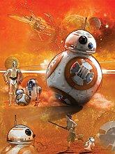 Star Wars Consalnet 2761 Vea Massacra VII Der Wecker der Force Vliestapete, mehrfarbig, 206 2-teilig x 275 cm