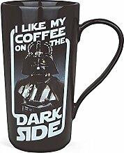 Star Wars Darth Vader Tasse XXL Kaffee Becher lizenziert Keramik 450ml schwarz