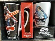Star Wars Darth Vader und Luke Skywalker Kaffee