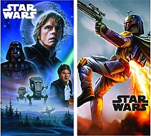 Star Wars Disney Handtuch 2er Set 35x65cm (69914)