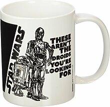 Star Wars Droids Keramik Becher, mehrfarbig
