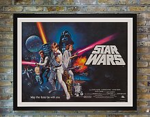 Star Wars Filmposter von Tom Chantrell, 1977