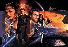 Star Wars Fototapete Consalnet 1585P8 Wandbild besteht aus 4 polykristalline Tapete 368,0 x 254,0 cm