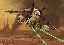Star Wars Fototapete Consalnet 1593P8 Wandbild besteht aus 4 polykristalline Tapete 368,0 x 254,0 cm